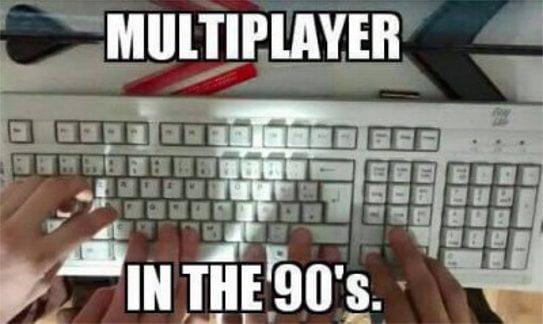 Multiplayer w latach 90
