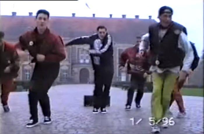 Mistrzostwa Polski w Żaganiu w Break Dance - 1996