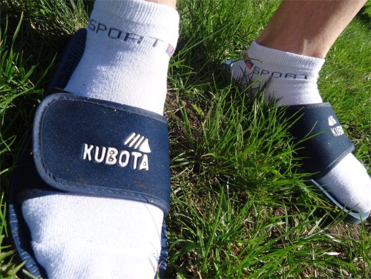 Klapki Kubota