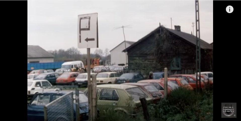 Giełda samochodowa w Słomczynie - 1994 rok