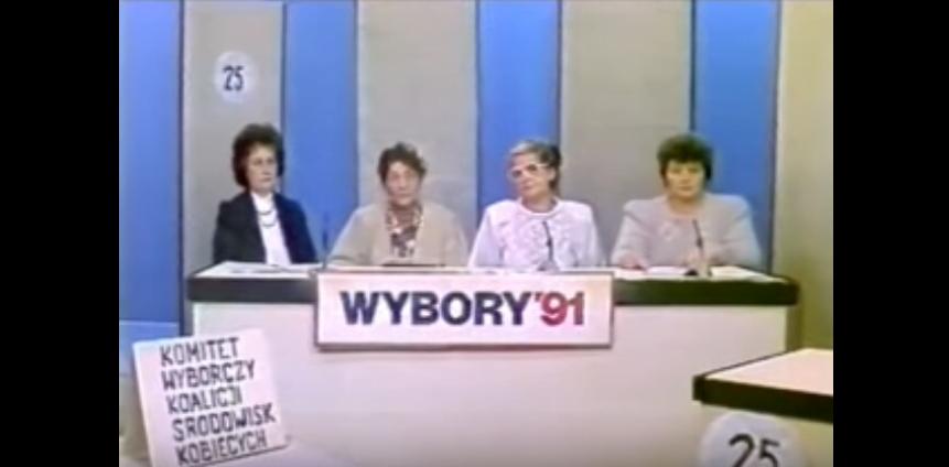 Wybory 1991 - materiały komitetów wyborczych