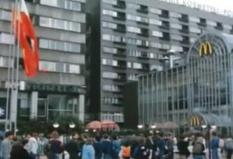 Otwarcie pierwszego McDonalds'a w Polsce – 1992 rok