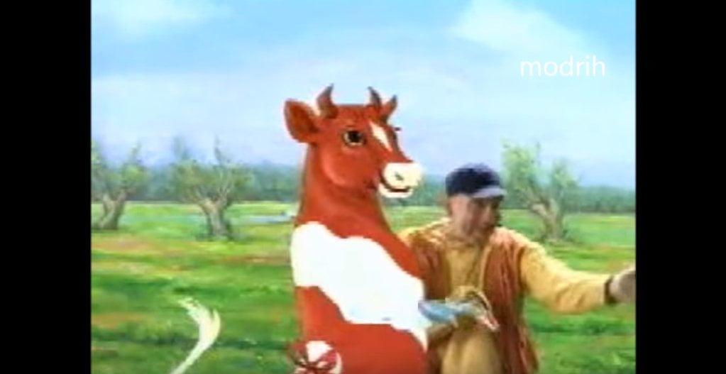 Terravita Pan Japa - Reklama z tańczącą krową