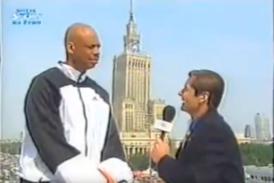 Kareem Abdul-Jabbar i Przemysław Babiarz – 1999 rok