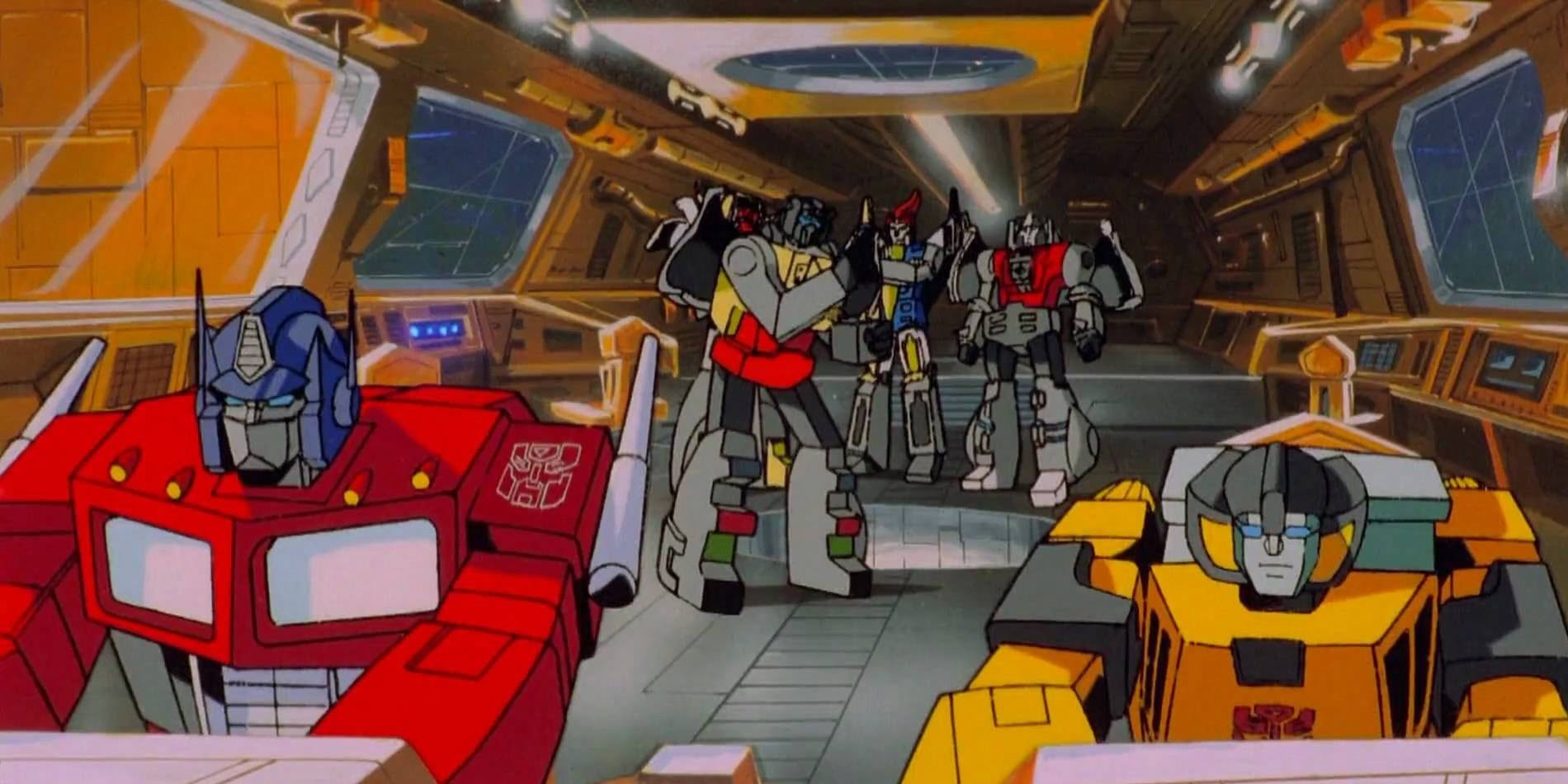 Transformers The Movie - Bajka z lat 80... w wersji VHS