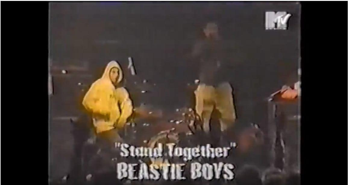 Beastie Boys w Warszawie w 1995 roku - materiał z koncertu