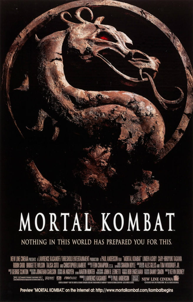 Plakat filmowy Mortal Kombat