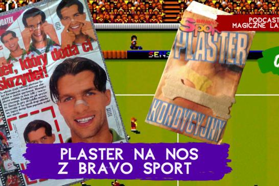 Plaster kondycyjny na nos z Bravo Sport | PODCAST 06
